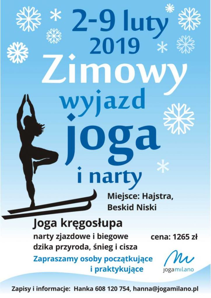 zimowy wyjazd joga i narty