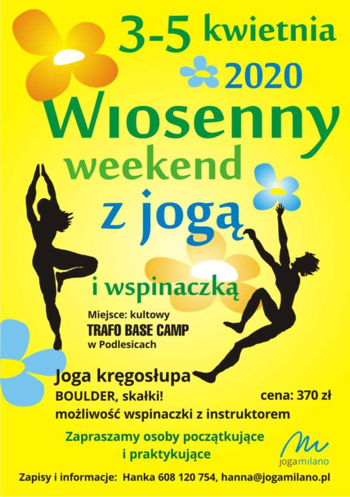 wiosenny weekend z jogą