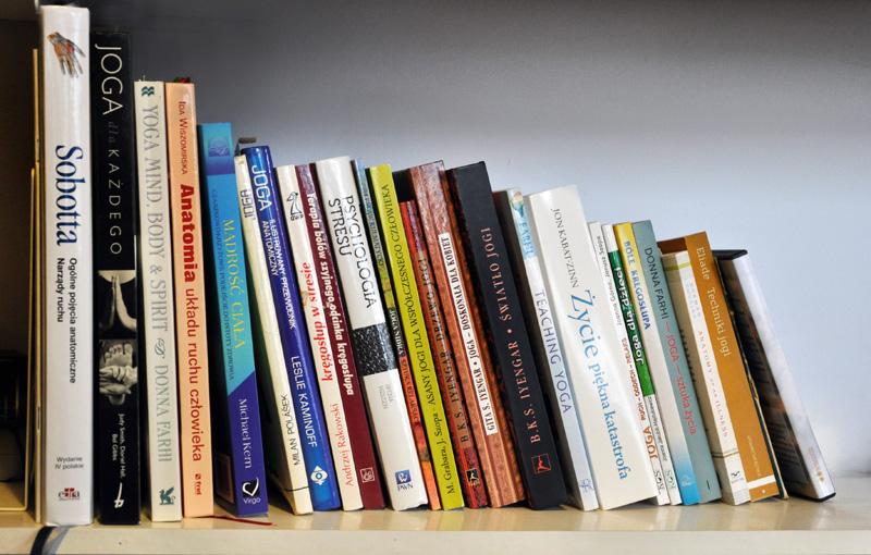 książki joga
